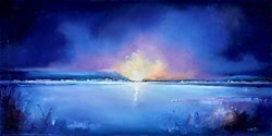 Last Light II by Anna Gammans -  sized 39x20 inches. Available from Whitewall Galleries